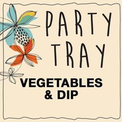 Vegetable and Dip Platters